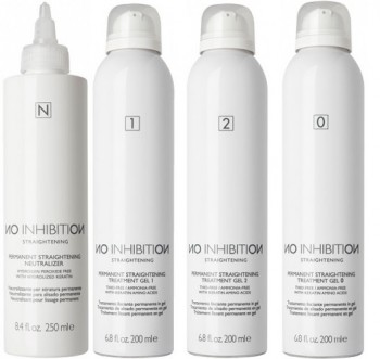 Z.one permanent straightening treatment gel żel prostujący 200ml + neutralizer