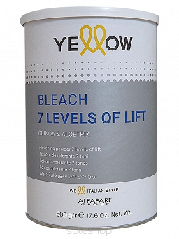 YELLOW Bleach 7 Levels Of Lift puder rozjaśniający do 7 tonów 500g