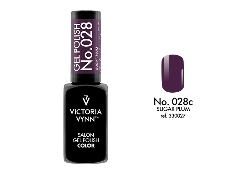 VICTORIA VYNN Gel Polish lakier hybrydowy 028 Sugar Plum 8ml