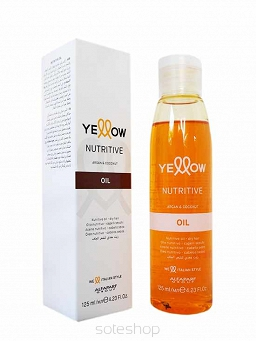 Yellow Nutritive Argan&Coconut Oil serum odżywcza 125ml