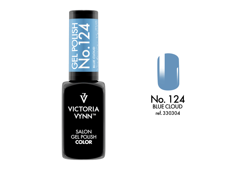 VICTORIA VYNN Gel Polish lakier hybrydowy 124 Blue Cloud 8ml