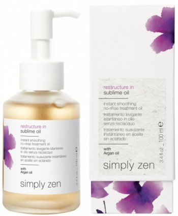 Z.one Simply Zen restructure in sublime oil 100ml
