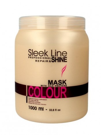 Stapiz sleek line maska z jedwabiem Color 1000ml
